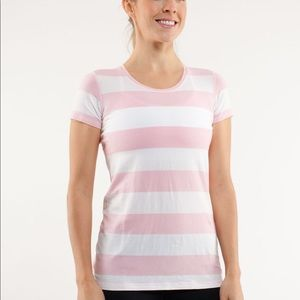 Lululemon lively crew neck tee